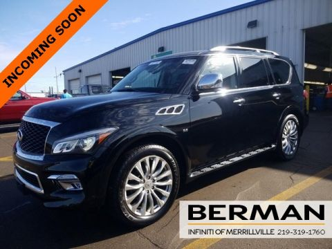 Certified Pre-Owned 2016 INFINITI QX80 Deluxe Tech Theater Driver's Assistance